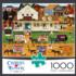 Storin' Up Americana & Folk Art Jigsaw Puzzle
