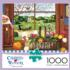 Peach of a Day Farm Jigsaw Puzzle