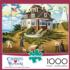 A Delightful Day on Sparkhawk Island Lighthouses Jigsaw Puzzle