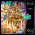 Rainbow City Fantasy Jigsaw Puzzle