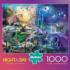 Dragon Race Into the Night Castles Jigsaw Puzzle