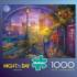 London Rain Landmarks / Monuments Jigsaw Puzzle