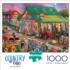 Antique Market Countryside Jigsaw Puzzle