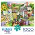 Country Yard Sale Countryside Jigsaw Puzzle