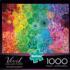 Succulent Rainbow Flowers Jigsaw Puzzle