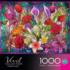 Window Lillies Butterflies and Insects Jigsaw Puzzle