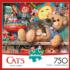 Toy Cabinet Cats Jigsaw Puzzle