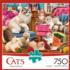 Sewing Kittens Cats Jigsaw Puzzle