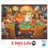 Poker Pups Dogs Jigsaw Puzzle