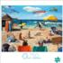 Dog Days of Summer Beach Jigsaw Puzzle