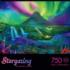 Enchanted Aurora Mountains Jigsaw Puzzle