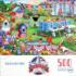 Backyard BBQ Fourth of July Jigsaw Puzzle