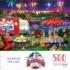 Fourth By The Lake Fourth of July Jigsaw Puzzle