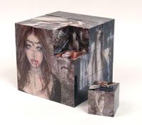 Magnetic Puzzle Cube - Victoria Frances (27 cubes) Gothic Jigsaw Puzzle