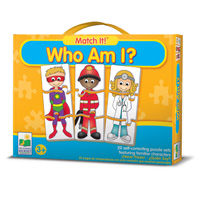 Match It! Who Am I? Children's Games Children's Puzzles