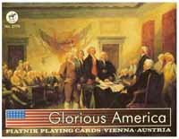 Glorious America, Deluxe Double Deck Patriotic Playing Cards