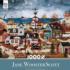 Home Before Dark (Jane Wooster Scott) - Scratch and Dent Americana & Folk Art Jigsaw Puzzle