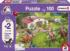 Horse Ride into the Countryside Horses Jigsaw Puzzle