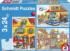Fire Brigade and Police People Jigsaw Puzzle