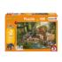 Croco Research Station Jungle Animals Jigsaw Puzzle