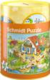 Farm Coin Bank, Puzzle and Poster Farm Jigsaw Puzzle