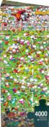 Crazy World Cup People Jigsaw Puzzle