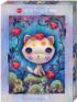 Strawberry Kitty Cats Jigsaw Puzzle