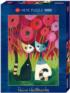 Poppy Canopy Cats Jigsaw Puzzle