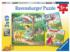 Rapunzel, Red Riding Hood, Frog King - Scratch and Dent Graphics / Illustration Jigsaw Puzzle