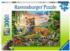 Jungle Tiger Jungle Animals Jigsaw Puzzle