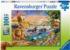 Savannah Jungle Waterhole Animals Jigsaw Puzzle