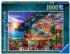 Dinner in Positano Italy Jigsaw Puzzle