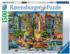 The Painted Ladies Cartoons Jigsaw Puzzle