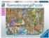 Midnight at the Library Fantasy Jigsaw Puzzle