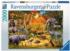 Gathering at the Wateringhole Jungle Animals Jigsaw Puzzle