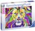 King of Technicolor - Scratch and Dent Lions Jigsaw Puzzle