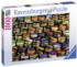 Bottlecap Hills - Scratch and Dent Everyday Objects Jigsaw Puzzle