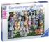 Cat Family Reunion Cats Jigsaw Puzzle