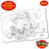 Puzzle Doubles Giant Pirate Adventure Fantasy Floor Puzzle