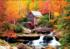 KODAK Premium Puzzles - Glade Creek Mill, Babcock State Park Fall Jigsaw Puzzle