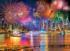 KODAK Premium Puzzles - Fireworks on the Hudson River by Midtown Manhattan, NYC Skyline / Cityscape Jigsaw Puzzle