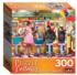 Soda and Ice Cream Parlor People Jigsaw Puzzle