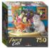 Tea By The Sea Cats Jigsaw Puzzle