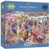 Village Tombola People Jigsaw Puzzle