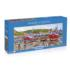 Seagulls at Staithes Boats Jigsaw Puzzle