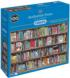 Authorful Puns Bookshelves Jigsaw Puzzle