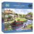 Swanning Along Summer Jigsaw Puzzle