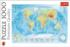 Physical Map Of The World Maps / Geography Jigsaw Puzzle