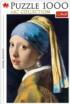 Girl With A Pearl Earring Fine Art Jigsaw Puzzle