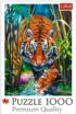 Grasping Tiger Tigers Jigsaw Puzzle